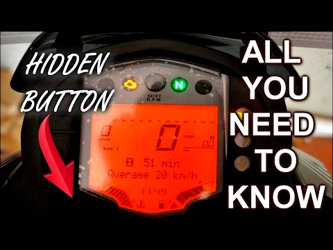 KTM Digital Speedometer EXPLAINED As fast as Possible