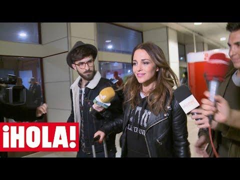PAULA ECHEVARRÍA vuelve a España y responde a las preguntas sobre su divorcio