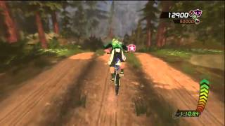 MotionSports Adrenaline Mountain Biking Gameplay Video (Xbox 360)