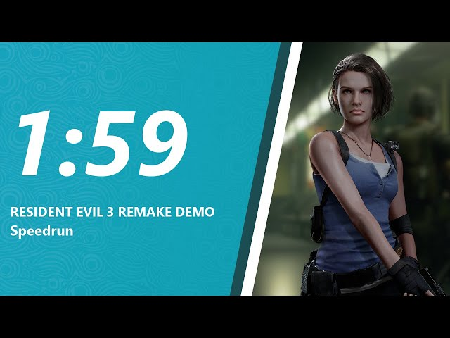 Resident Evil 3 Remake Demo Speedrun in 2 minutes!