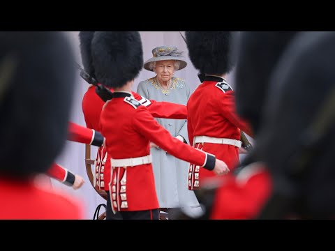 Queen marks official birthday at Trooping the Colour ceremony