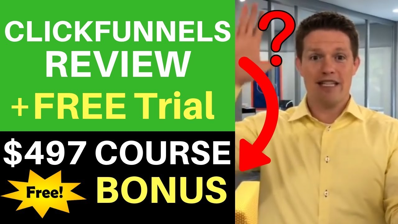 Clickfunnels Review + Free Trial & Course Bonus ($497 Value)