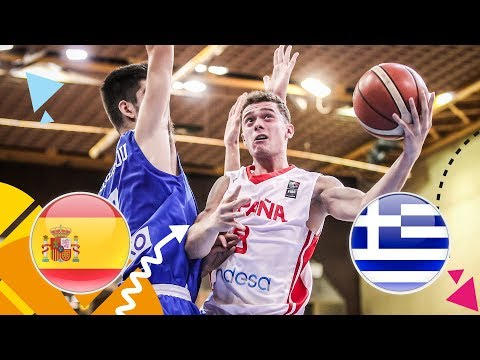 LIVE 🔴 – Spain v Greece – Quarter-Finals – FIBA U16 European Championship 2018