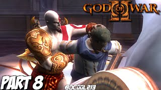 GOD OF WAR 2 GAMEPLAY WALKTHROUGH PART 8 THE PALACE OF THE FATES - PS3 LET'S PLAY