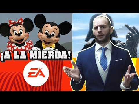 ¡DISNEY QUIERE DESPEDIR A EA DE STAR WARS - Sasel - Electronic arts