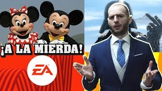 Baixar ¡DISNEY QUIERE DESPEDIR A EA DE STAR WARS! - Sasel - Electronic arts