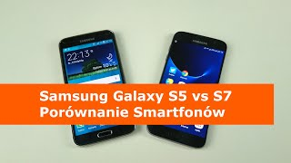 Samsung Galaxy S5 vs S7 Porównanie Smartfonów Wodoodpornych z MicroSD