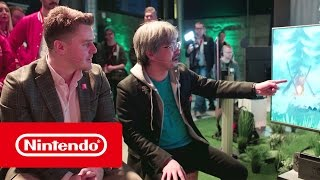 The Legend of Zelda: Breath of the Wild - 20 Minuten Live gameplay mit Eiji Aonuma (Nintendo Switch)
