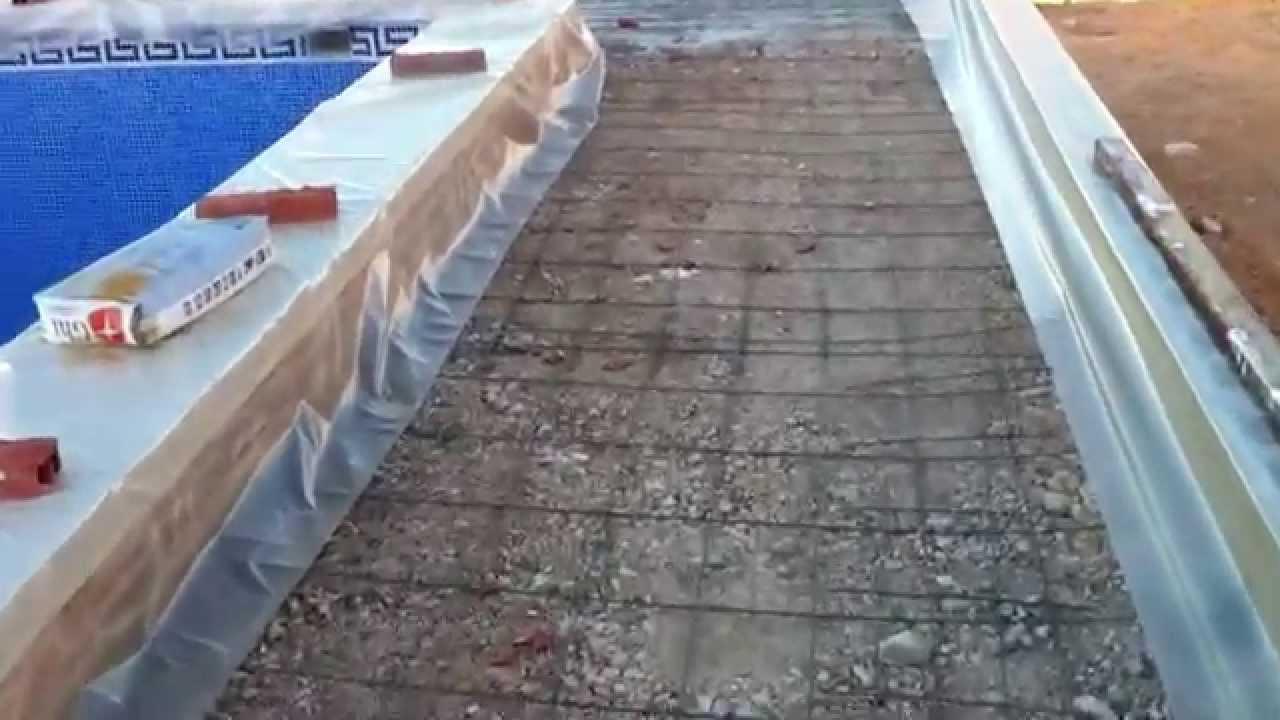 Solera de hormigon armado affordable straw house by luis - Como hacer una solera de hormigon ...