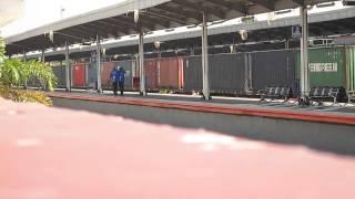 Kompilasi Kereta Api di Stasiun Cirebon