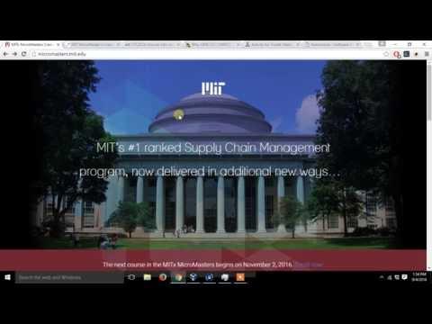 Vlog 1:  Online programs Georgia Tech, MIT & CMU