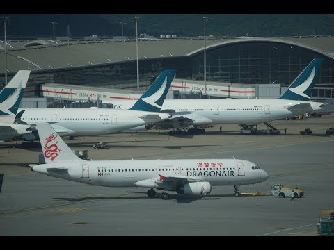 Cathay Dragon A320 Business Class Qingdao to Hong Kong