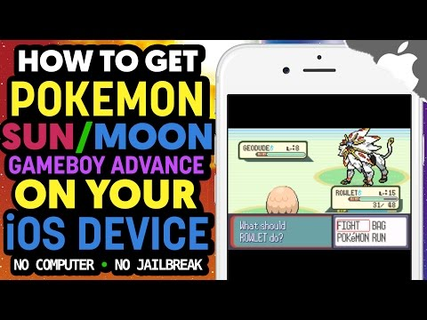 How to Get Pokemon SUN & MOON GBA on your iOS Device! (NO COMPUTER) (NO JAILBREAK) iPhone iPad iPod