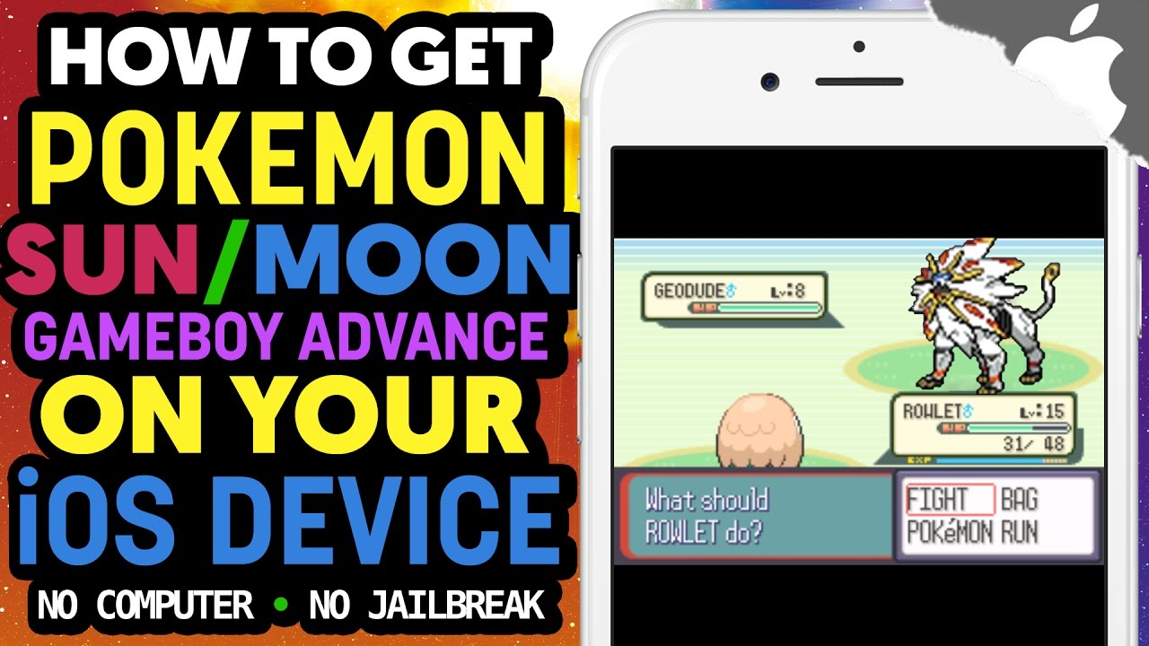 How To Get Pokemon Sun Moon Gba On Your Ios Device No Computer