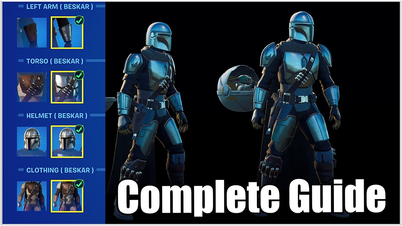 Download Fortnite, Mandalorian Beskar Armor 100% Guide, (How to Get All Armor Pieces) - Chapter 2 Season 5