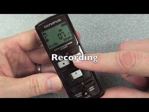olympus vn 5200 pc digital audio voice recorder instruction guide rh youtube com Olympus VN-702PC Manual Best Digital Voice Recorder