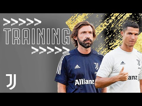 👔⚽ ANDREA PIRLO MEETS HIS JUVENTUS SQUAD | First Training Session
