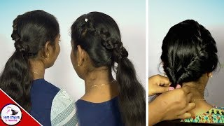 2 Best Snake Braid And TwistedPony Hairstyles|Hairstyle Girl|2019 Hairstyles|Hairstyles And Fashions