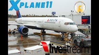 X-Plane 11   B752 B722 738   CINCI, BUFF, CHITOWN, MINNIAP