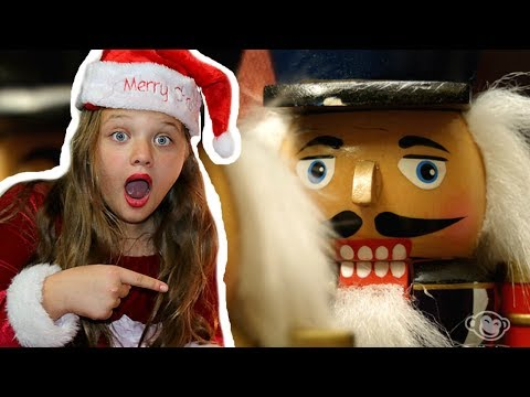 The Toy Collector Part 3! Christmas Tree Decorating, Nutcrackers, Spy?