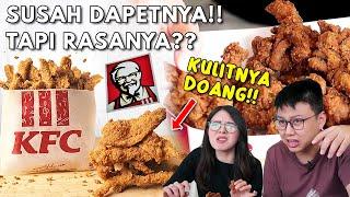 KULIT AYAM KFC HARUS ANTRI DARI SIANG !! PUAS ATAU KECEWA ??
