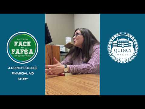 Face the FAFSA with Quincy College