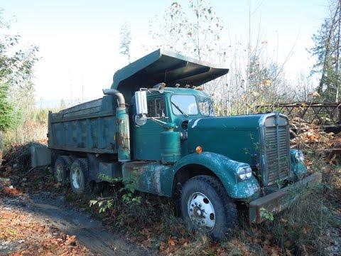 1959 Kenworth Dump Truck - YouTube Kenworth Dump Trucks Pics