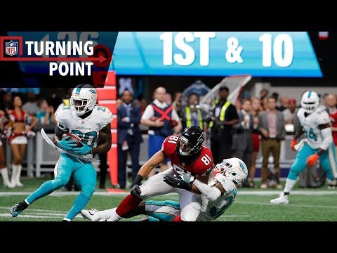 Dolphins Overcome a 17Point Halftime Deficit to Defeat the Falcons Week 6  NFL Turning Point
