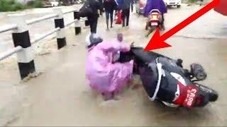 बाढीले भक्तपुरलाई यस्तो बनायो | heavy flood in Bhaktapur | by Dknepal