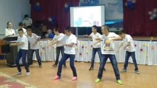 Флешмоб 6 сынып оқушылары Новобогат орта мектебі