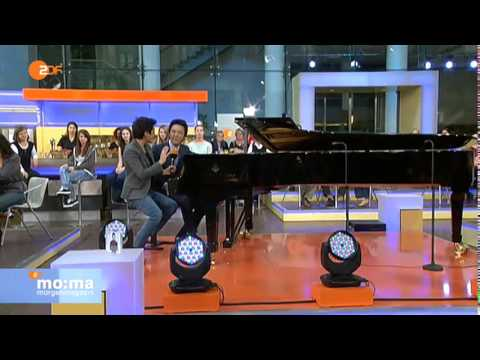 Yundi on German TV (ZDF Morgenmagazin)