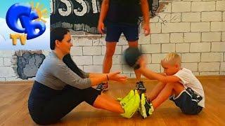 ⚽ Спорт Мотивация. Старший брат в Фитнес студии ⚽ Motivation in Sport. Fitness studio