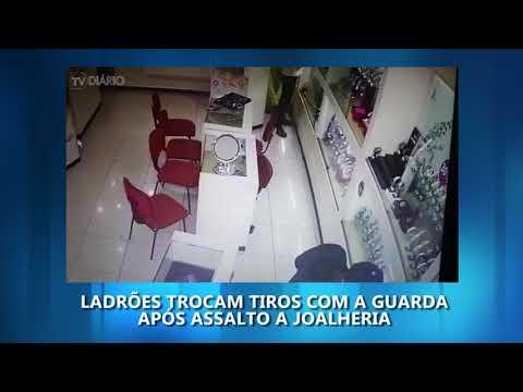 Vídeo mostra início do tiroteio no Centro de Rio Preto
