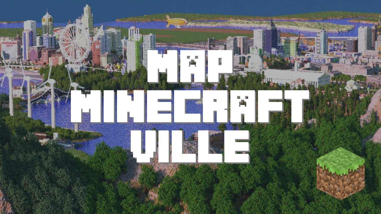 Map Minecraft Aventure A Telecharger Sur Minecraft Fr Youtube