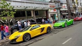 Siêu xe của Phan Thành trên đường phố McLaren 650S Spider, Lamborghini Huracan   Siêu Xe Việt Nam