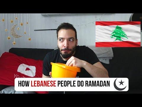 How Lebanese People do Ramadan!