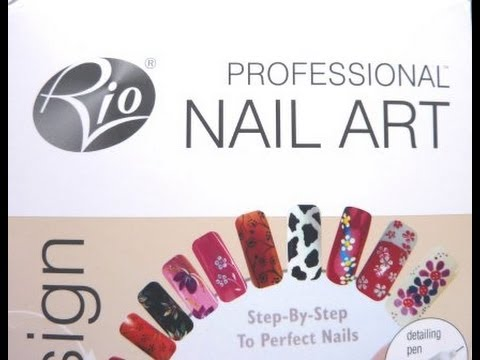 Rio professional nail art kit product review and rhinestone rio professional nail art kit product review and rhinestone glitter nail art tutorial hd video youtube prinsesfo Gallery