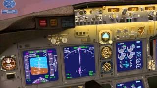 FSX Mission Amsterdam to London Airline Run HD