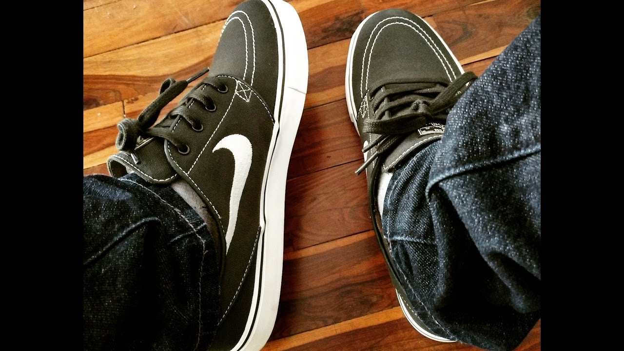 best service 66ca5 1218b Nike SB Zoom Stefan Janoski CNVS - Zoom Air Unboxing   Review
