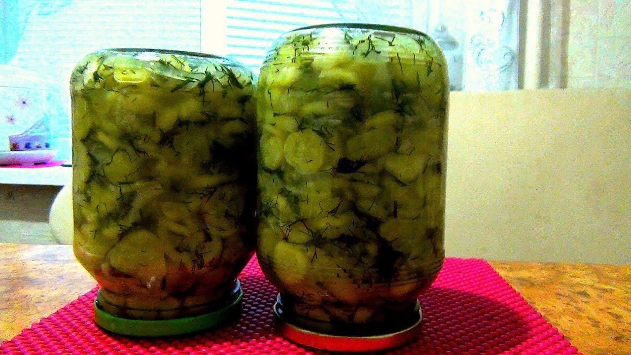 Салат из огурцов с луком. Заготовка на зиму. Консервация ...