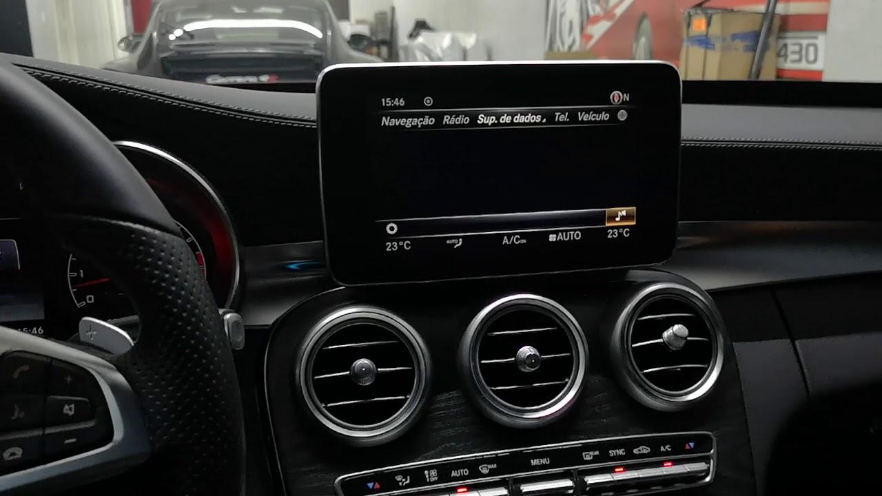 Carplay Android Auto Mercedes C200 C250 C300 C180