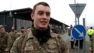 Danske soldater er kommet hjem fra Estland