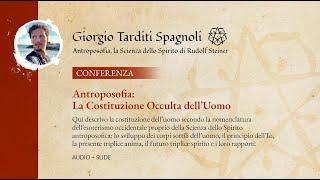 Antroposofia: La Costituzione Occulta dell'Uomo