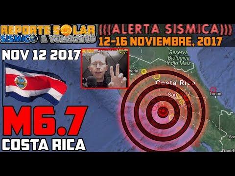 M6.7 Costa Rica Análisis de Terremotos en (((ALERTA SÍSMICA))) con Alex Backman