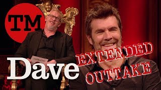 Taskmaster S7 EP8 | EXTENDED OUTTAKE | Rhod's Creepy Video of Greg Davies | Dave