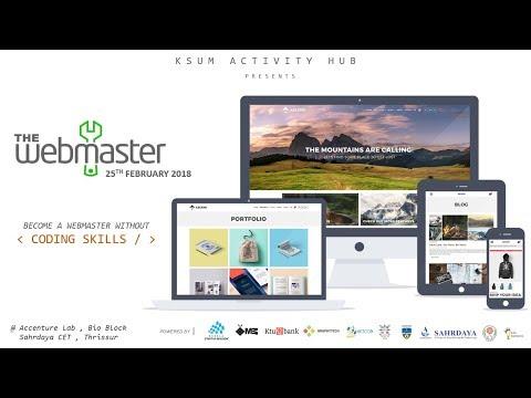 Webmaster Official Teaser   KSUM activity Hub Presents   Ketcon Teckon 2018