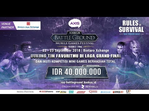 [DAY 1] KASKUS BATTLEGROUND SEASONS 2 FINAL RULES OF SURVIVAL