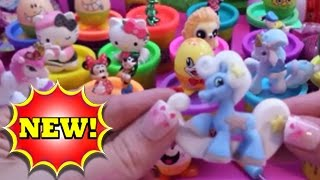 "MIX of ""Play Eggs"" ""Surprise Eggs"" ""Disney Toys"" Hello Kitty Filly Donald Duck Mickey Mouse 2015"