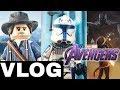 VLOG: Red Dead 2 Arthur, NEXT Clone Wars Showcase, & AVENGERS 4 Trailer Soon!!