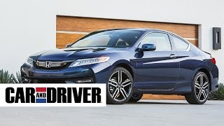 Honda Accord Coupe V-6 Review in 60 Seconds   Car and Driver
